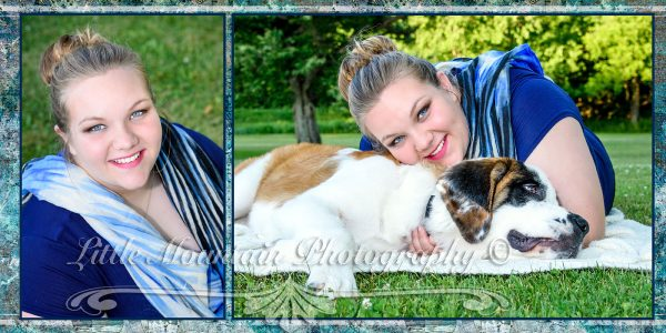 Senior-Portraits-with-my-dog-meadville-pa,Senior-Photographer-Little-Mountain-Photography, Best-Custom-Photography-in-North-West-Pennsylvania, BEst-Meadville_Pa-Photographer, Best-Senior-Pics-Meadville-Pa