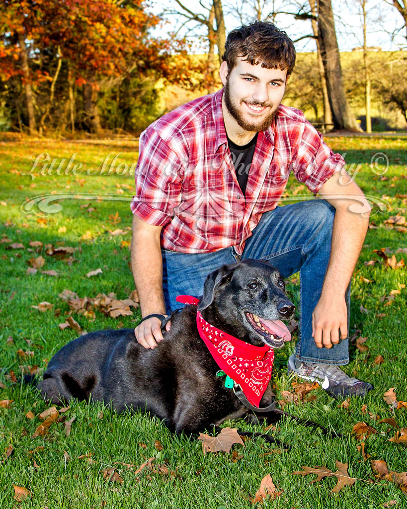 Best_Friends, I love my Dog, Senior Portraits with you pet, Meadville Pa Custom Portraits, Senior Pictures from Little Mountain Photography